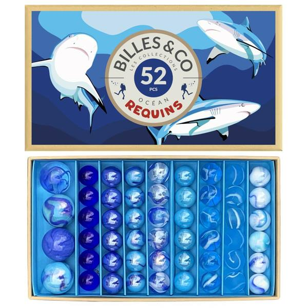 Marble Box Requins